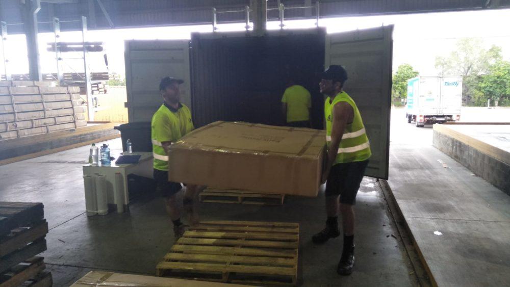 Container Unloading Brisbane - Container Loading Brisbane