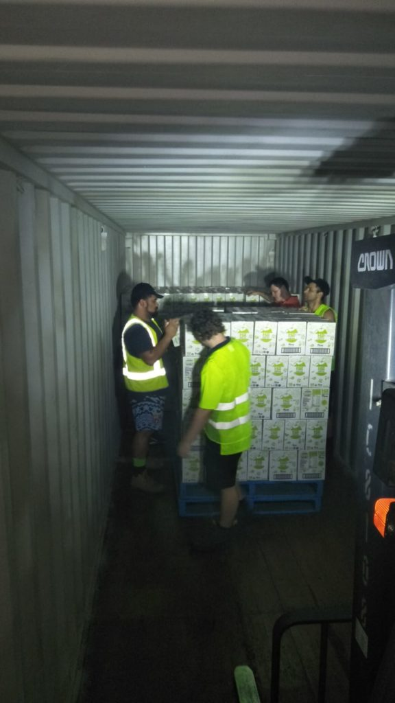 Container Unloading Gold Coast - Container Warehouse Staff